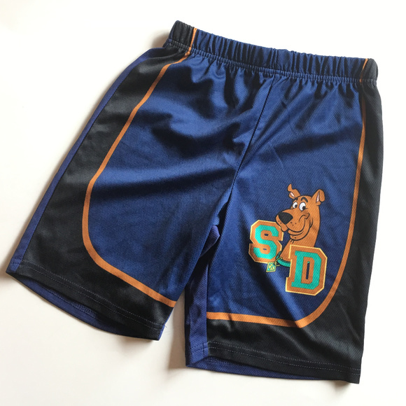 Scooby Doo Bottoms Scoobydoo Basketball Shorts Boy M 8 Blue Poshmark
